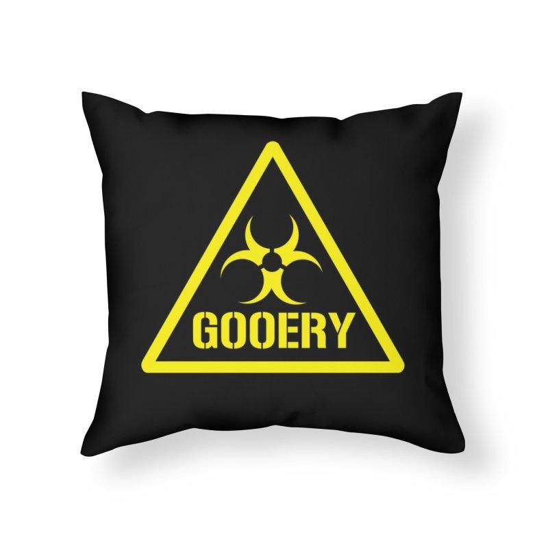 The Gooery - Warehouse 13 Home Throw Pillow by Cowboy Goods Artist Shop
