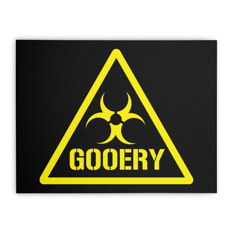 The Gooery - Warehouse 13 Home Stretched Canvas by Cowboy Goods Artist Shop