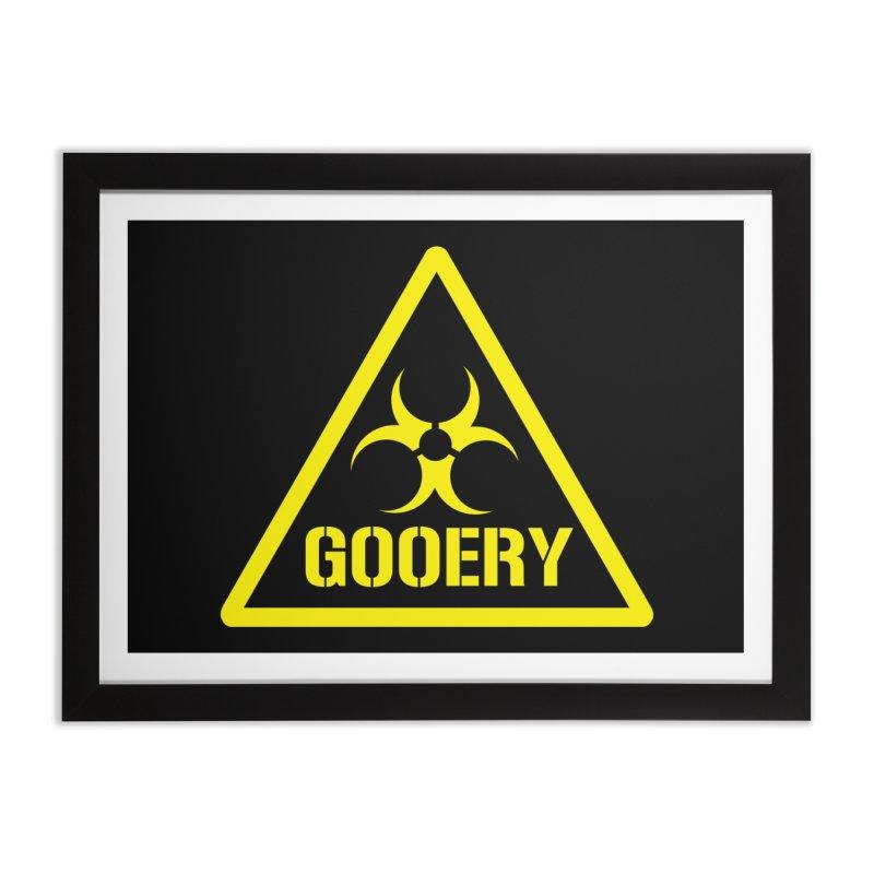 The Gooery - Warehouse 13 Home Framed Fine Art Print by Cowboy Goods Artist Shop