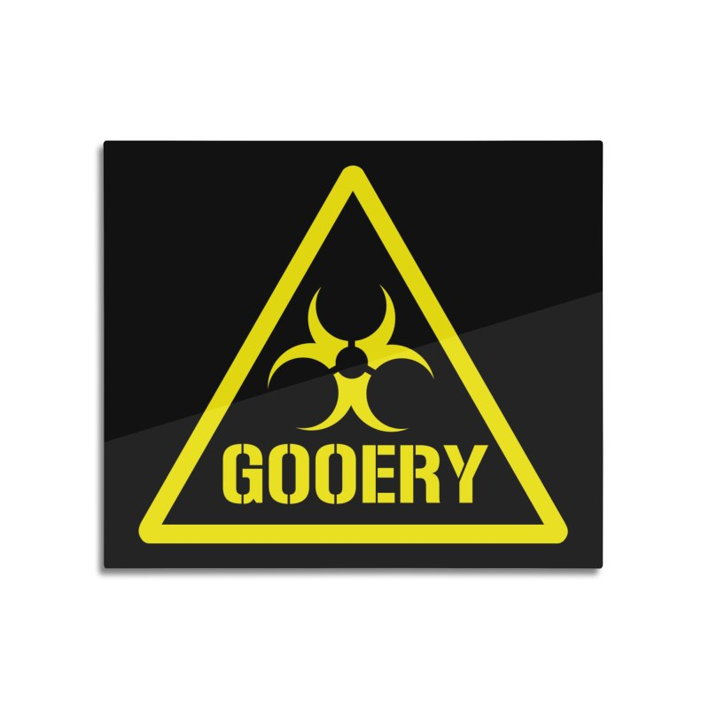 The Gooery - Warehouse 13 Home Mounted Aluminum Print by Cowboy Goods Artist Shop