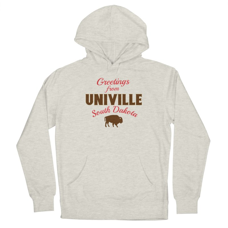 Greetings from Univille Men's Pullover Hoody by Cowboy Goods Artist Shop