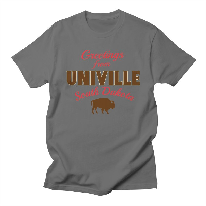 Greetings from Univille Men's T-Shirt by Cowboy Goods Artist Shop