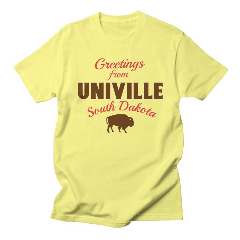 Greetings from Univille Women's T-Shirt by Cowboy Goods Artist Shop