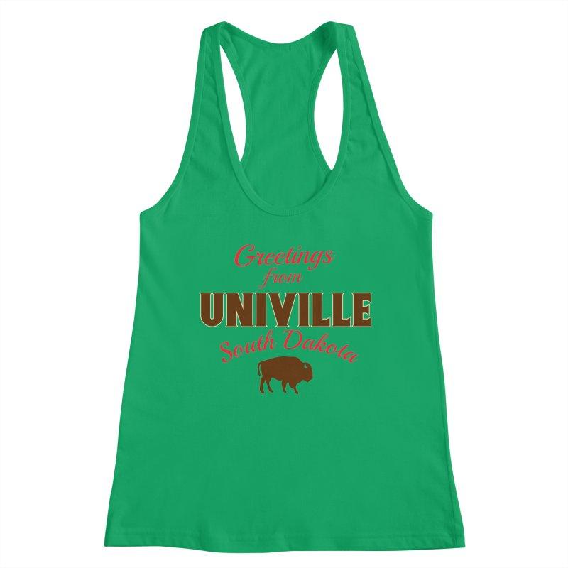 Greetings from Univille Women's Tank by Cowboy Goods Artist Shop