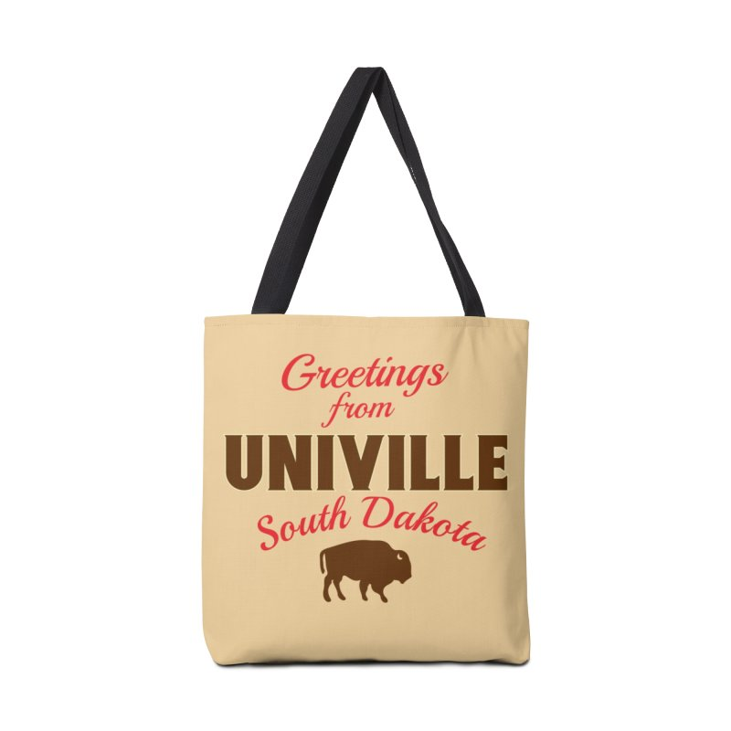 Greetings from Univille Accessories Bag by Cowboy Goods Artist Shop