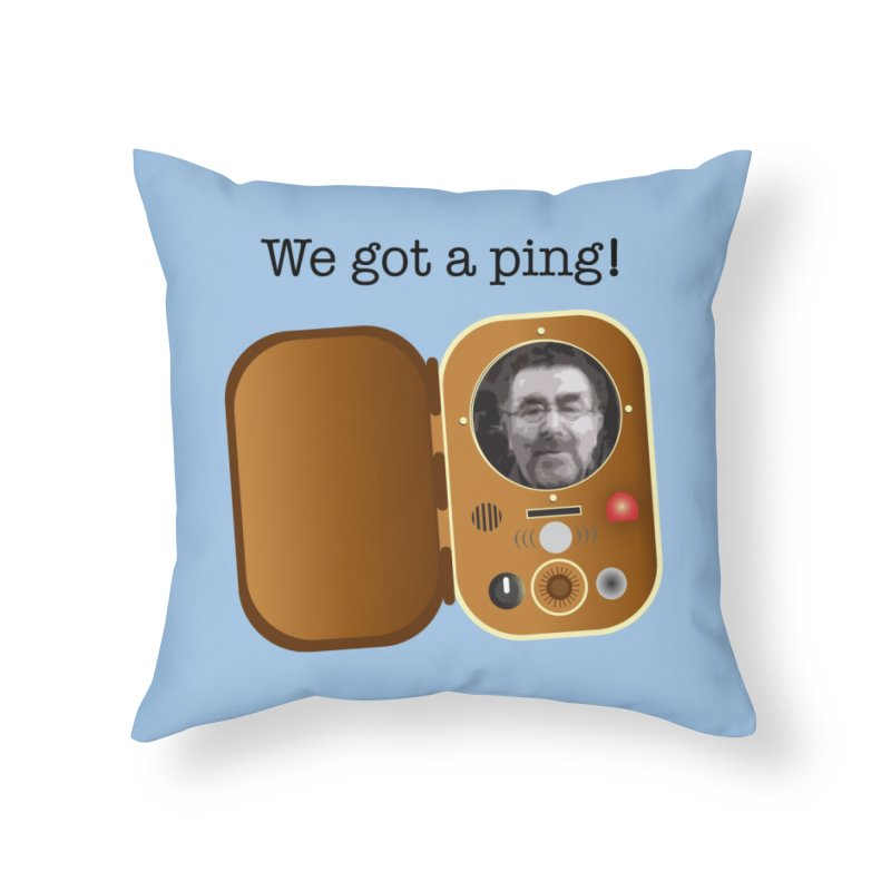 Artie's on the Farnsworth Home Throw Pillow by Cowboy Goods Artist Shop