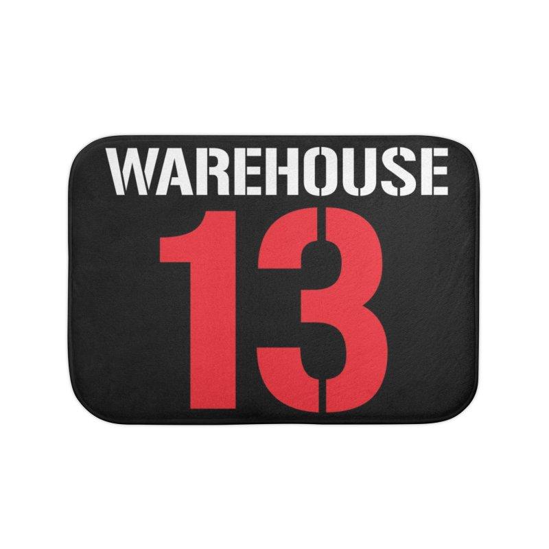 Warehouse 13 Home Bath Mat by Cowboy Goods Artist Shop