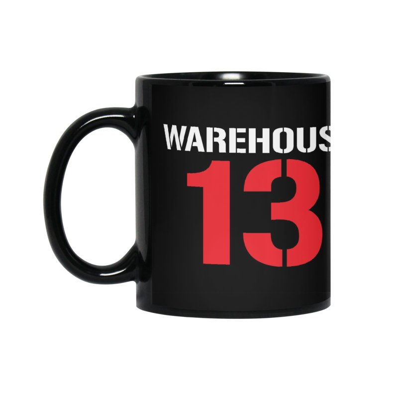 Warehouse 13 Accessories Mug by Cowboy Goods Artist Shop