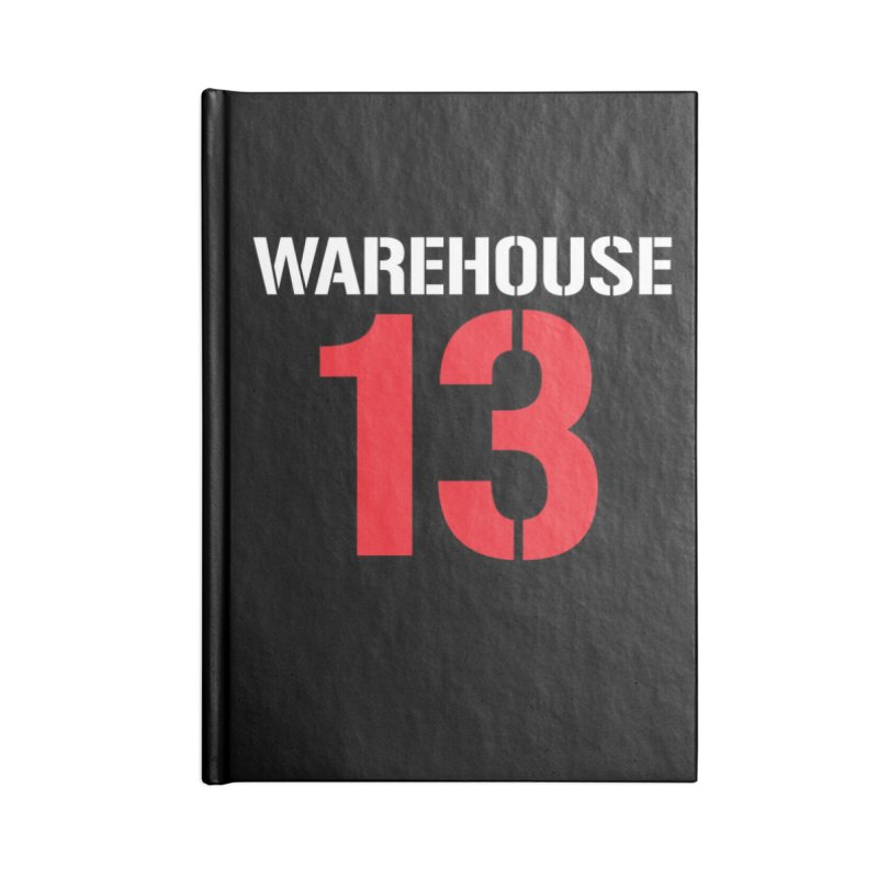 Warehouse 13 Accessories Notebook by Cowboy Goods Artist Shop