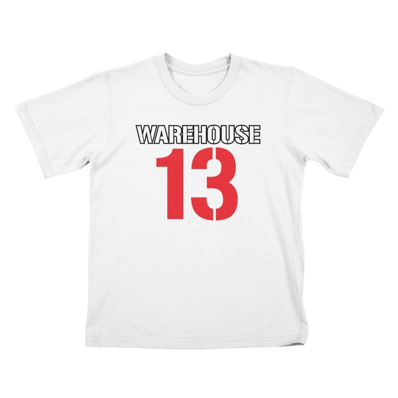 Warehouse 13 Kids T-Shirt by Cowboy Goods Artist Shop