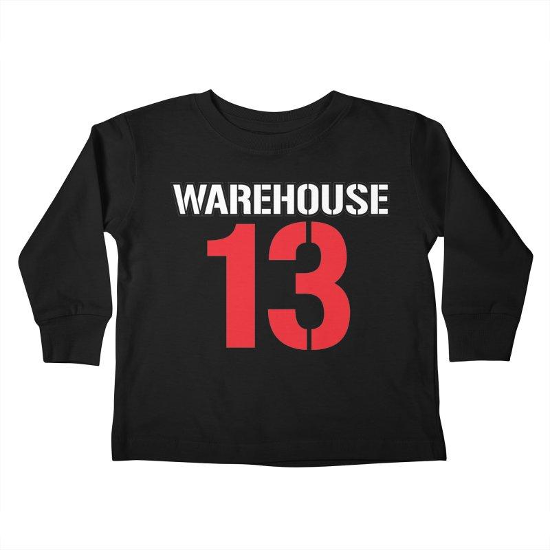Warehouse 13 Kids Toddler Longsleeve T-Shirt by Cowboy Goods Artist Shop