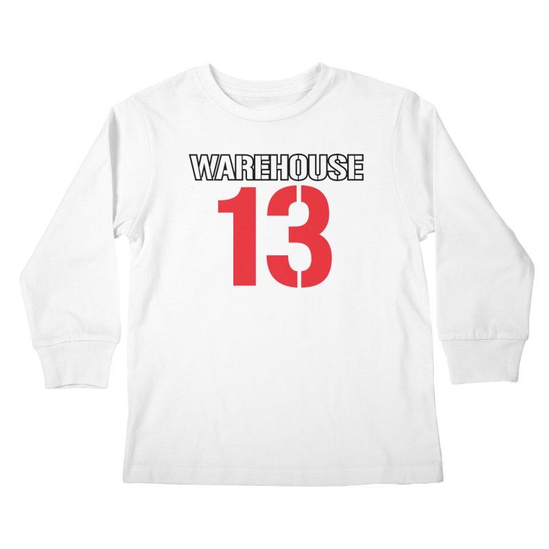 Warehouse 13 Kids Longsleeve T-Shirt by Cowboy Goods Artist Shop
