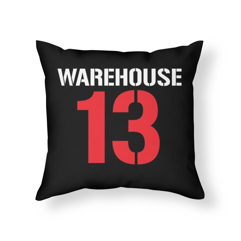 Warehouse 13 Home Throw Pillow by Cowboy Goods Artist Shop