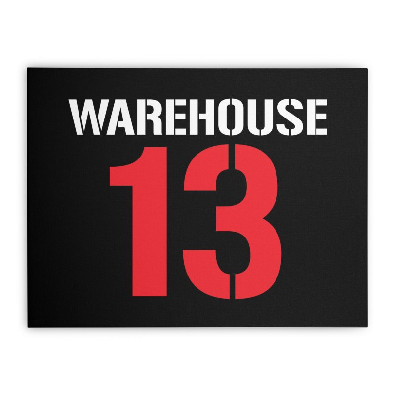 Warehouse 13 Home Stretched Canvas by Cowboy Goods Artist Shop