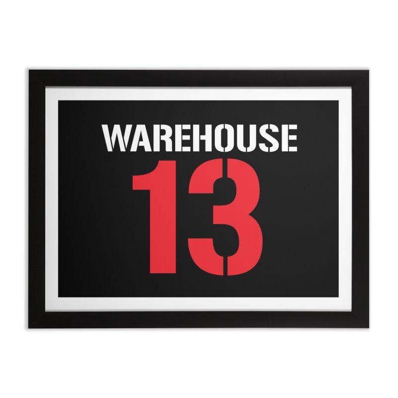 Warehouse 13 Home Framed Fine Art Print by Cowboy Goods Artist Shop