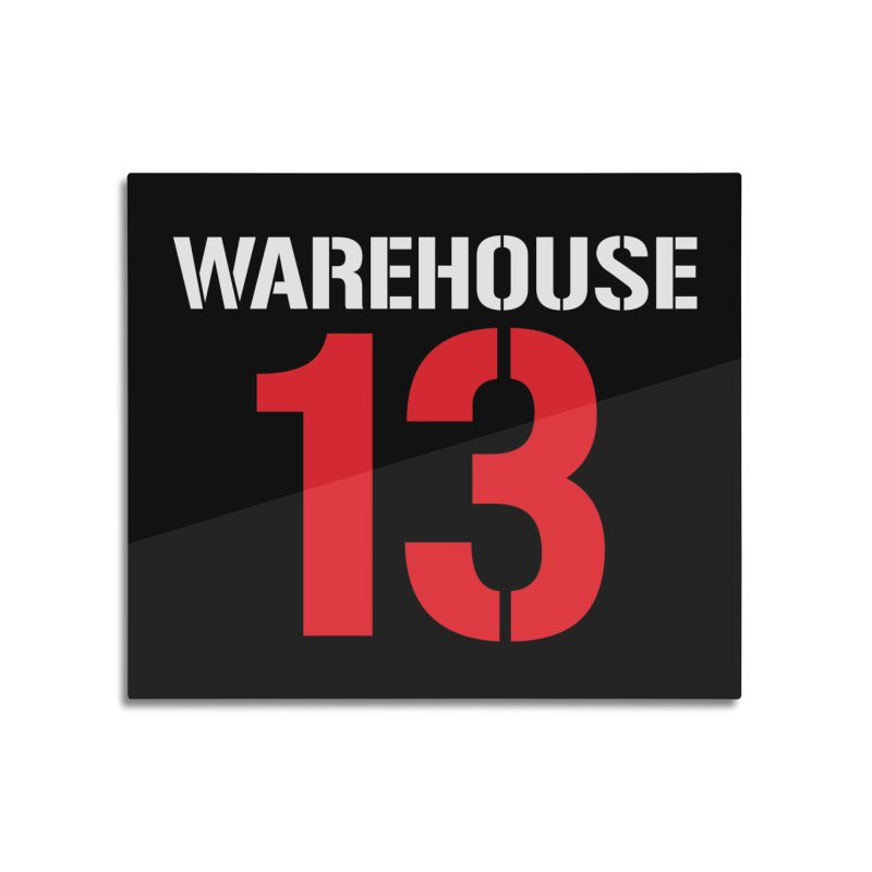 Warehouse 13 Home Mounted Acrylic Print by Cowboy Goods Artist Shop