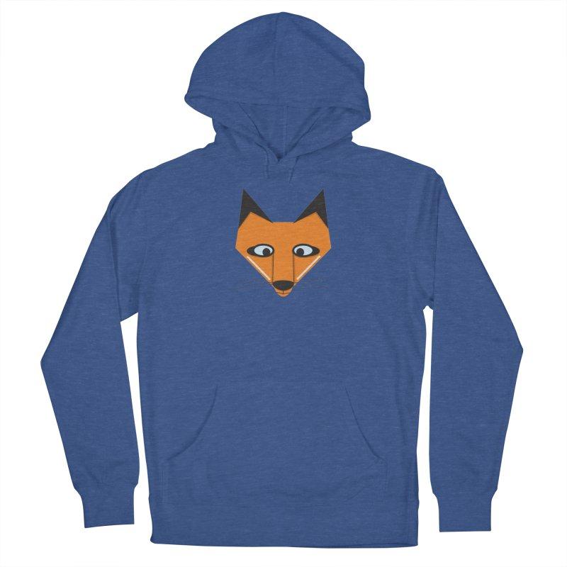 Fox Face Men's Pullover Hoody by Cowboy Goods Artist Shop