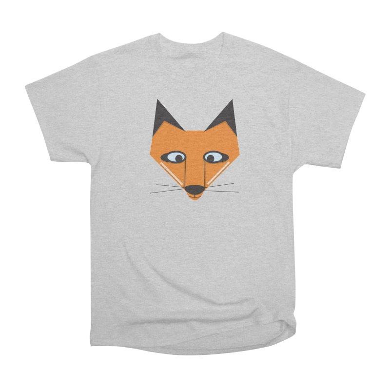 Fox Face Men's T-Shirt by Cowboy Goods Artist Shop