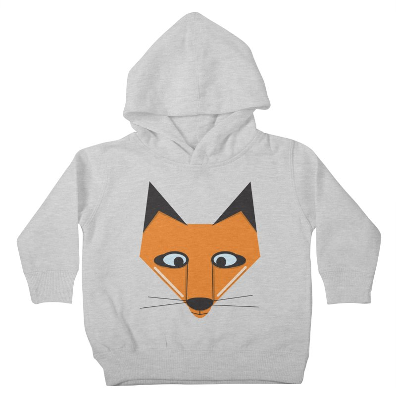 Fox Face Kids Toddler Pullover Hoody by Cowboy Goods Artist Shop