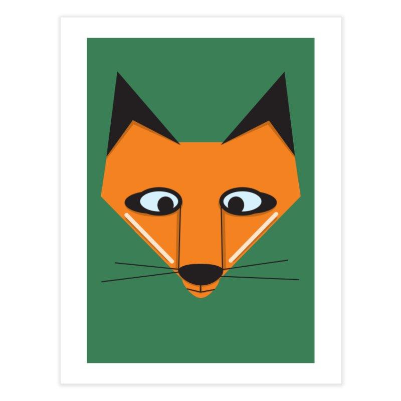 Fox Face Home Fine Art Print by Cowboy Goods Artist Shop
