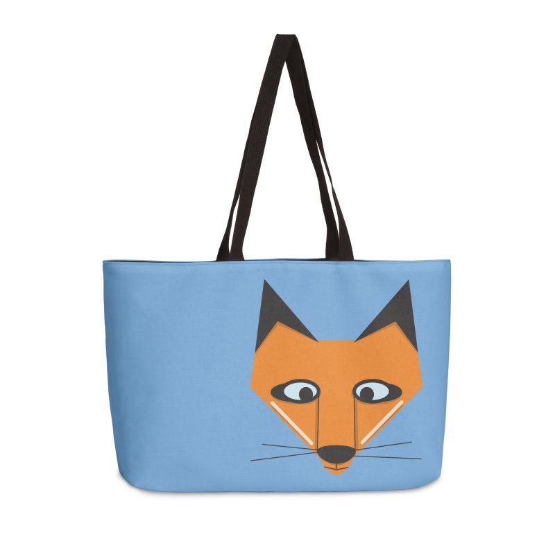 Fox Face Accessories Bag by Cowboy Goods Artist Shop