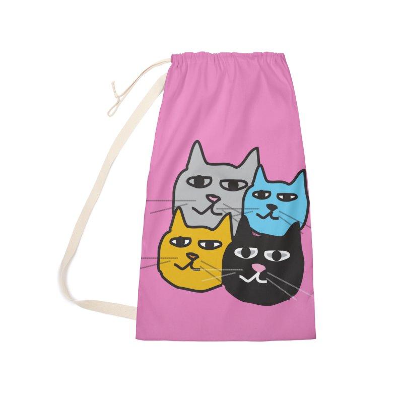 Cat Colony 1 Accessories Bag by Cowboy Goods Artist Shop
