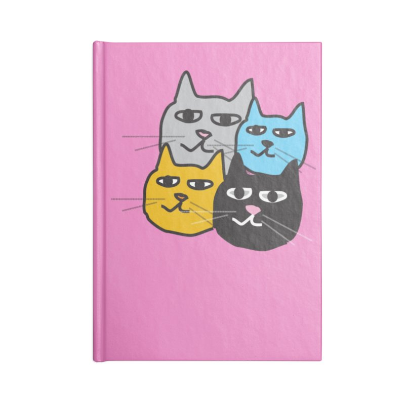 Cat Colony 1 Accessories Notebook by Cowboy Goods Artist Shop
