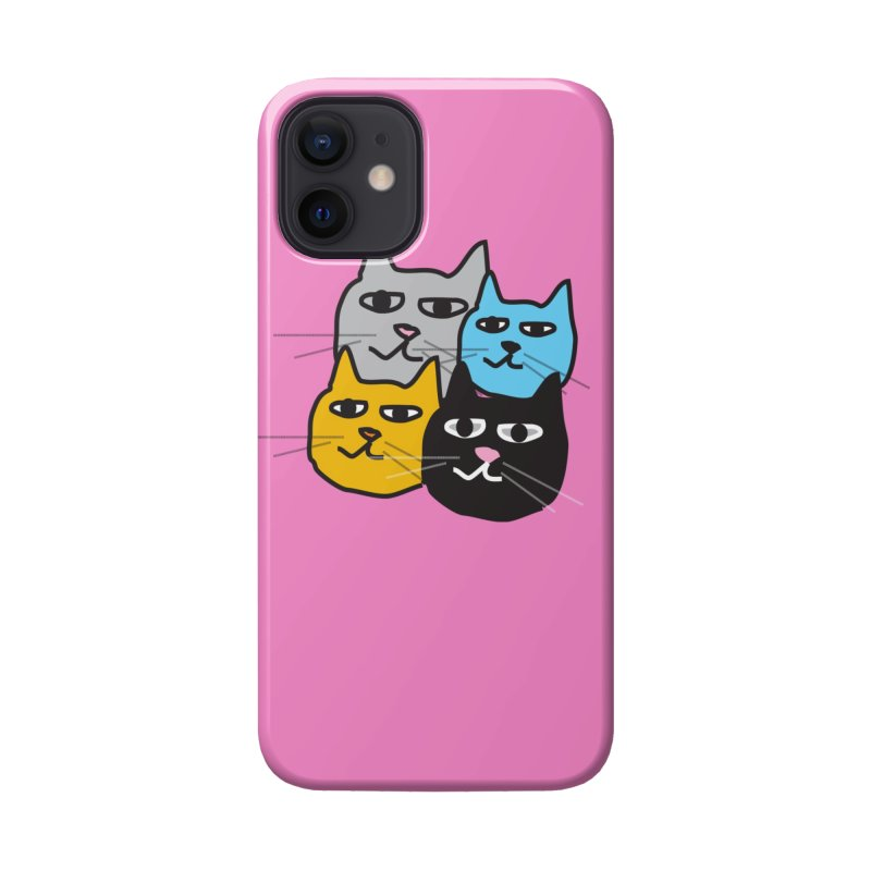 Cat Colony 1 Accessories Phone Case by Cowboy Goods Artist Shop