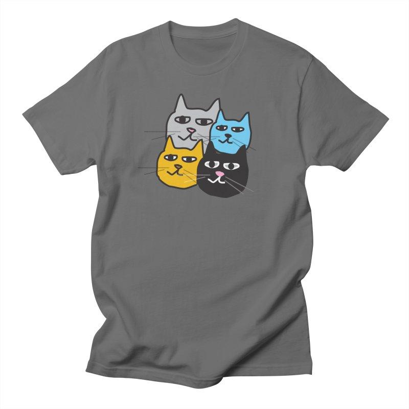 Cat Colony 1 Men's T-Shirt by Cowboy Goods Artist Shop