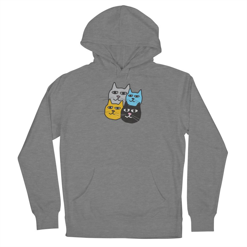 Cat Colony 1 Women's Pullover Hoody by Cowboy Goods Artist Shop