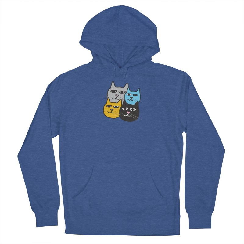 Cat Colony 1 Men's Pullover Hoody by Cowboy Goods Artist Shop
