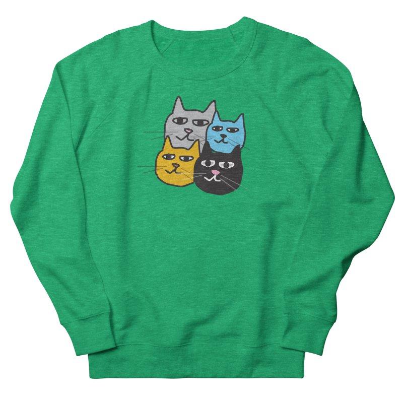 Cat Colony 1 Women's Sweatshirt by Cowboy Goods Artist Shop