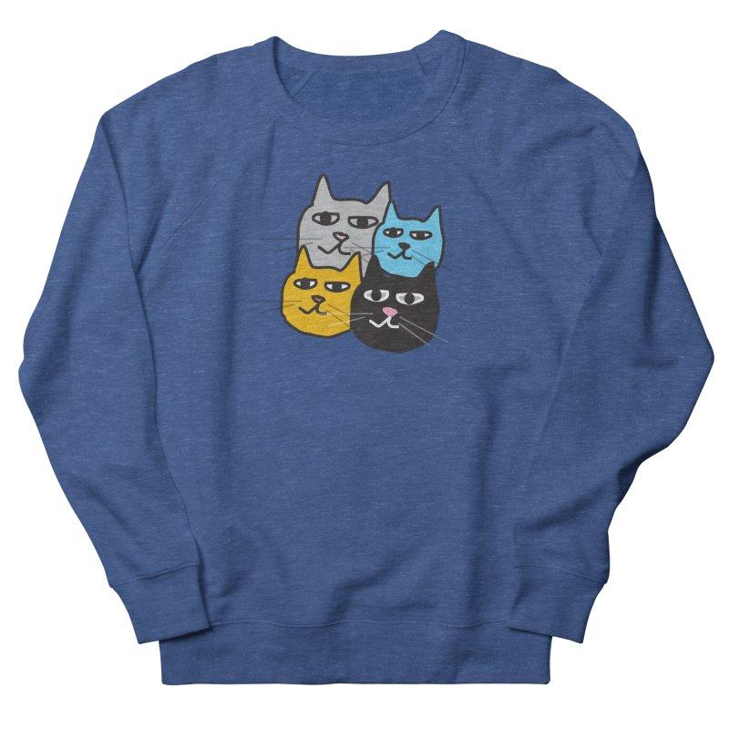Cat Colony 1 Men's Sweatshirt by Cowboy Goods Artist Shop
