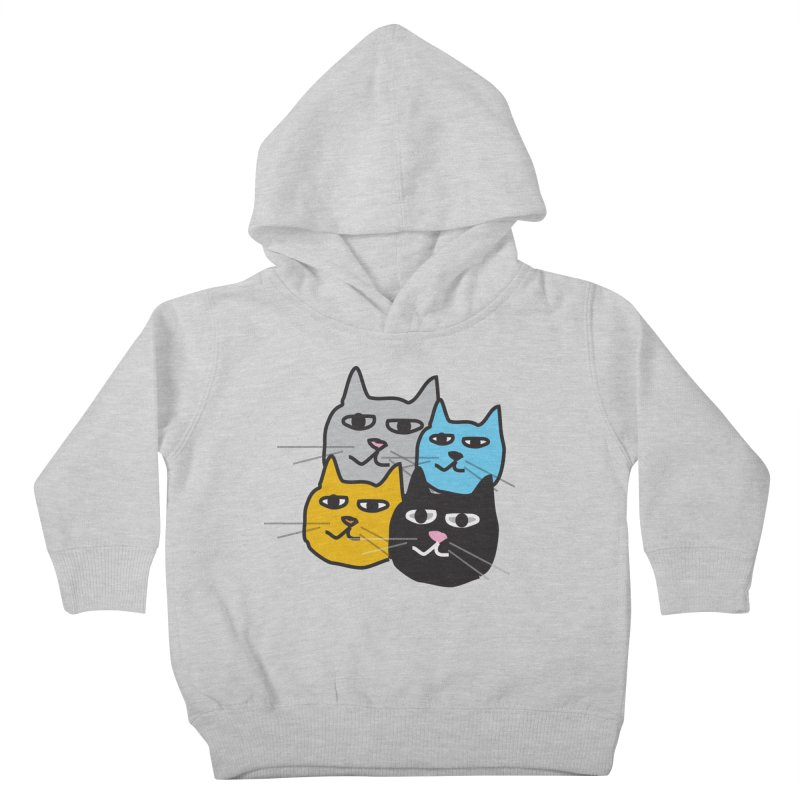 Cat Colony 1 Kids Toddler Pullover Hoody by Cowboy Goods Artist Shop