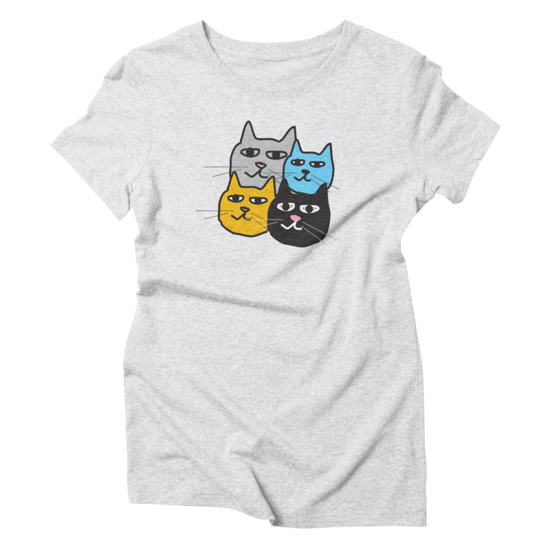 Cat Colony 1 Women's T-Shirt by Cowboy Goods Artist Shop