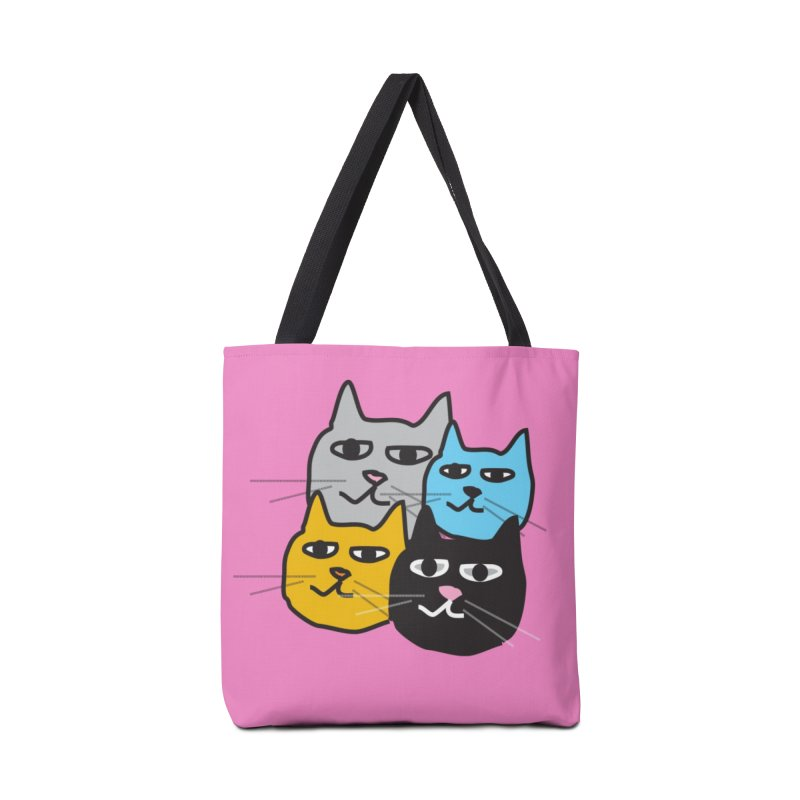 Cat Colony 1 Accessories Bag by Cowboy Goods Artist Shop