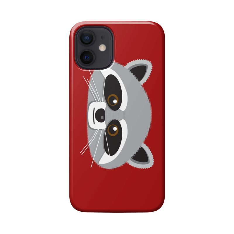 Racoon Face Accessories Phone Case by Cowboy Goods Artist Shop