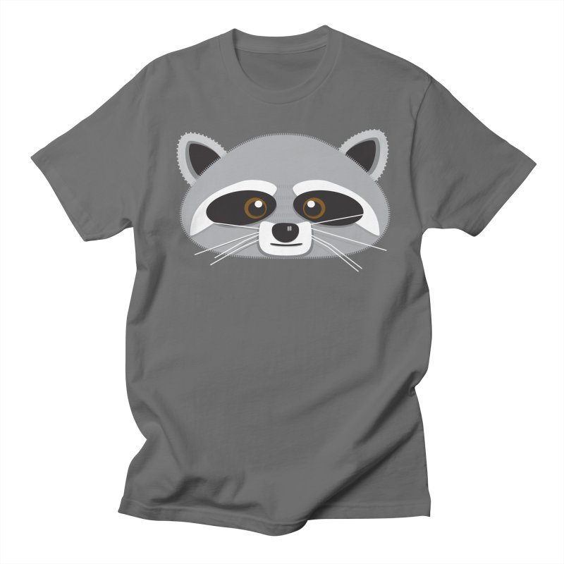 Racoon Face Women's T-Shirt by Cowboy Goods Artist Shop