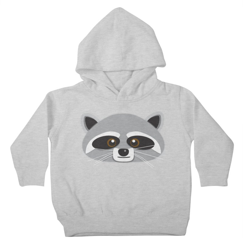 Racoon Face Kids Toddler Pullover Hoody by Cowboy Goods Artist Shop