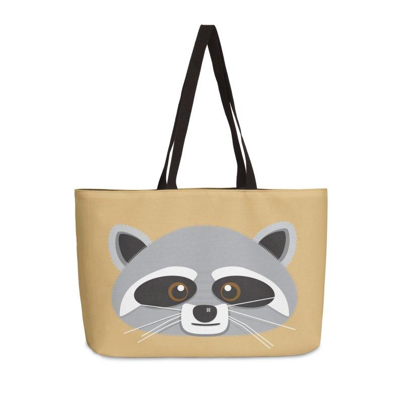 Racoon Face Accessories Bag by Cowboy Goods Artist Shop
