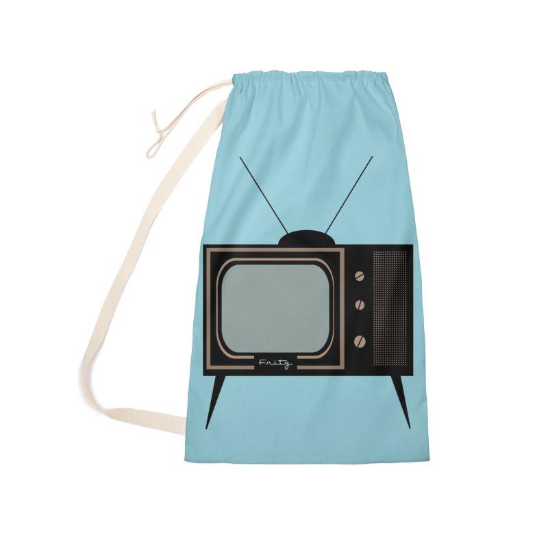 Vintage TV set Accessories Bag by Cowboy Goods Artist Shop