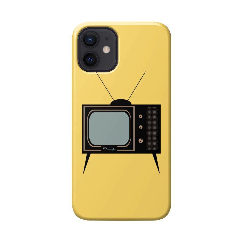Vintage TV set Accessories Phone Case by Cowboy Goods Artist Shop
