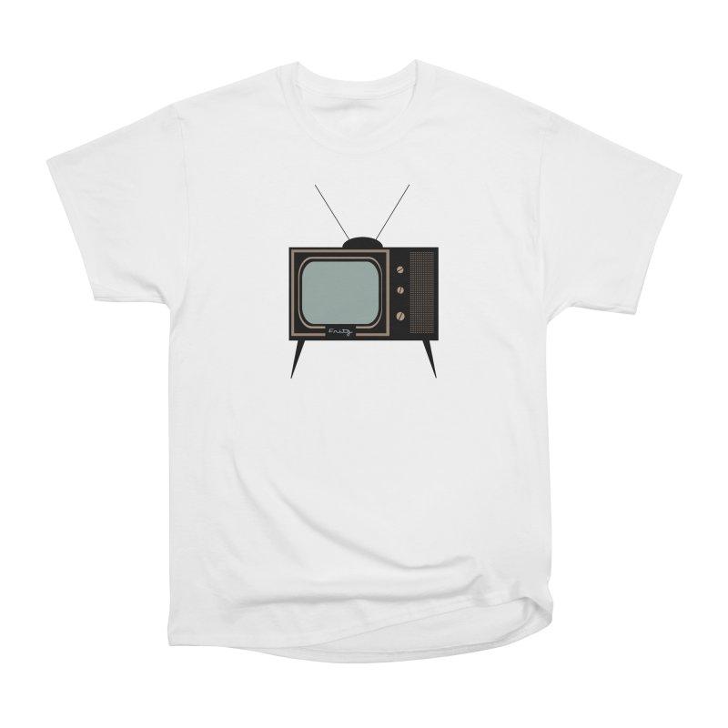 Vintage TV set Women's T-Shirt by Cowboy Goods Artist Shop