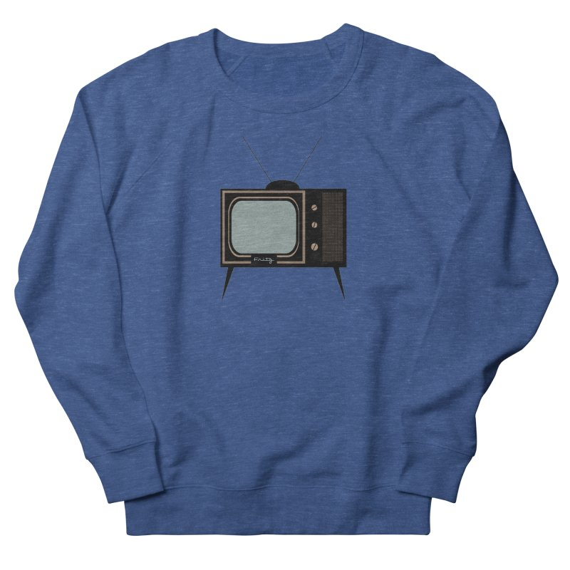 Vintage TV set Men's Sweatshirt by Cowboy Goods Artist Shop