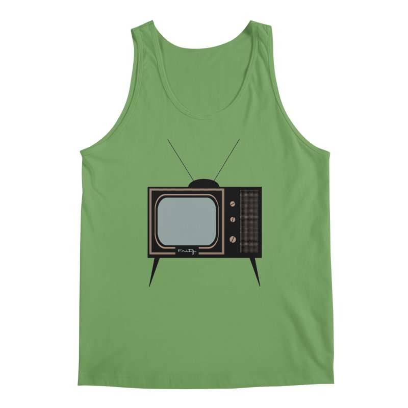 Vintage TV set Men's Tank by Cowboy Goods Artist Shop