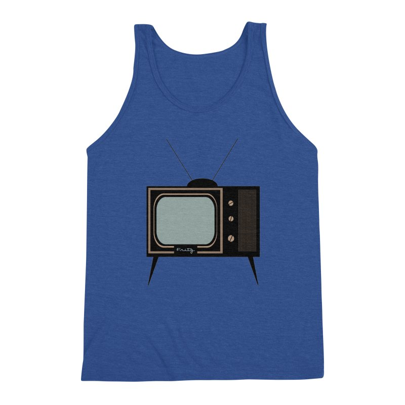 Vintage TV set Men's Tank by Cowboy Goods Artist Shop