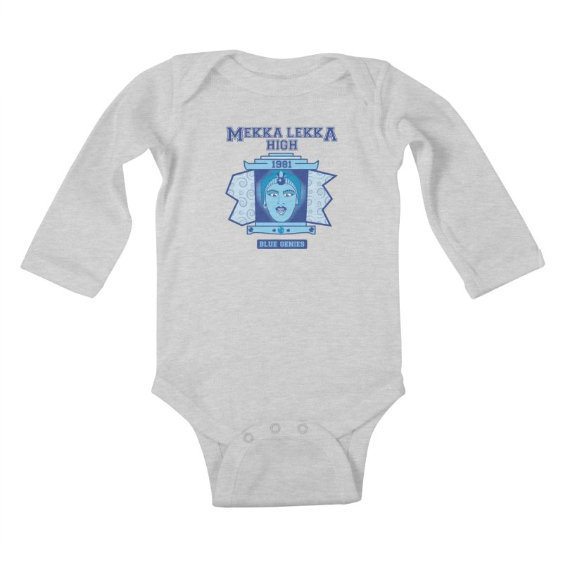 Mekka Lekka High Kids Baby Longsleeve Bodysuit by Cowboy Goods Artist Shop