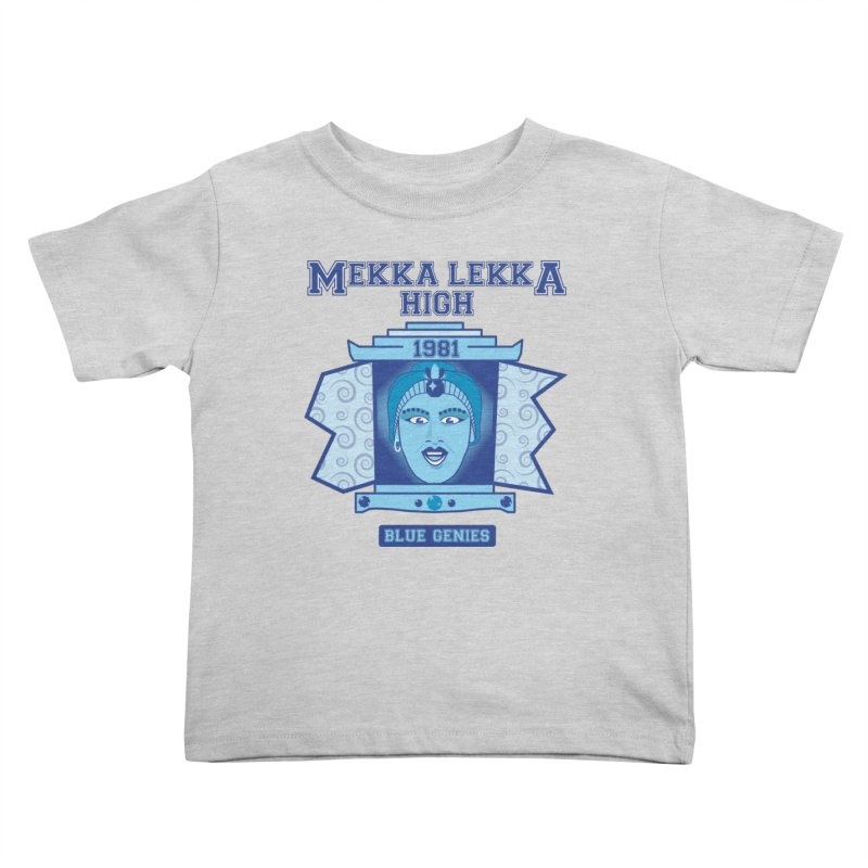 Mekka Lekka High Kids Toddler T-Shirt by Cowboy Goods Artist Shop