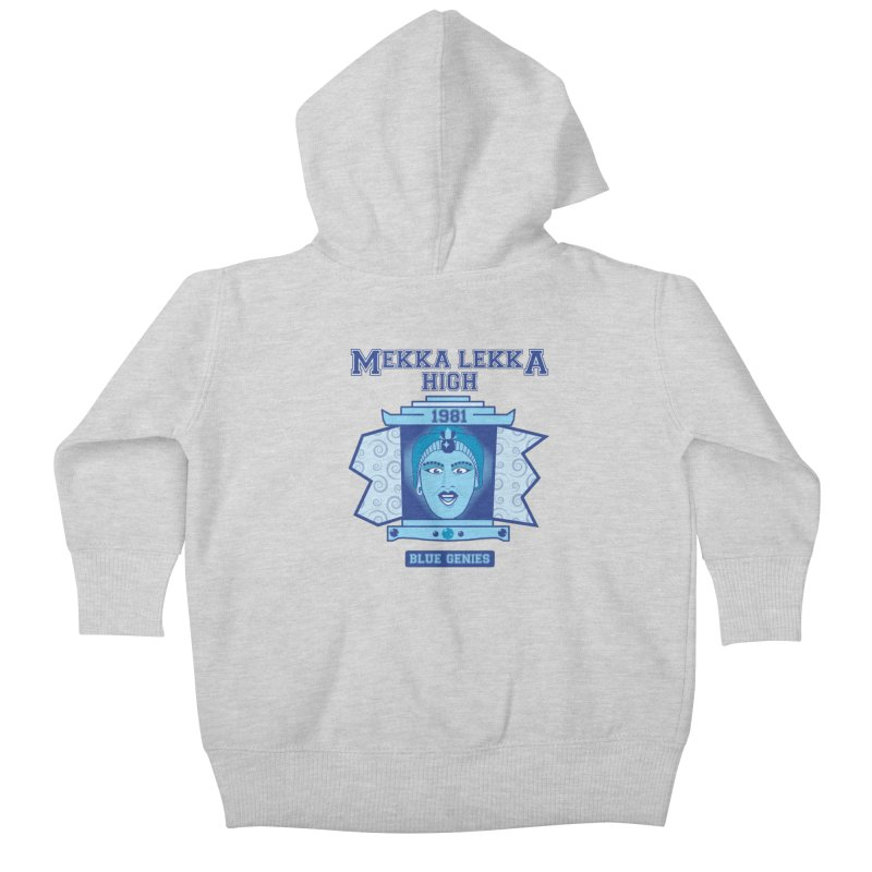 Mekka Lekka High Kids Baby Zip-Up Hoody by Cowboy Goods Artist Shop