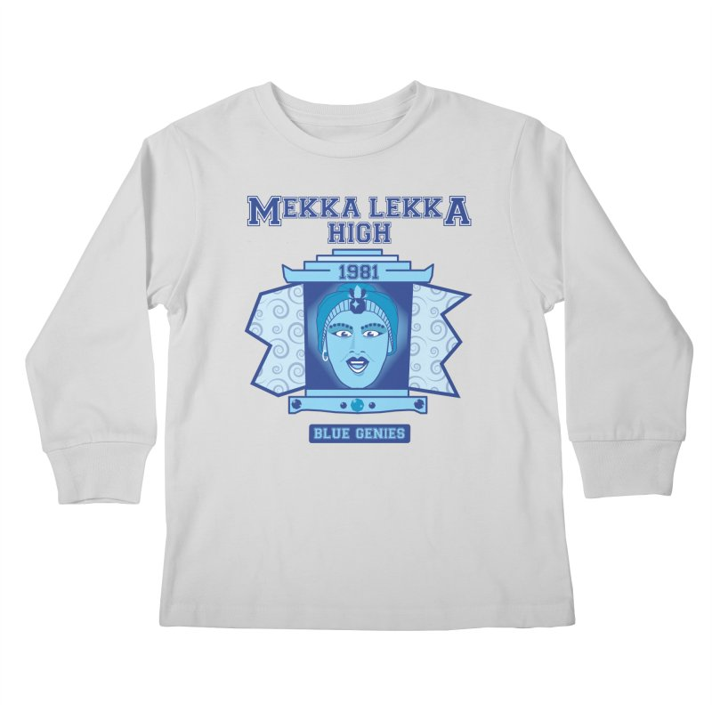 Mekka Lekka High Kids Longsleeve T-Shirt by Cowboy Goods Artist Shop